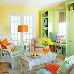Interior decor with Cool colours for the summers - Protech Group