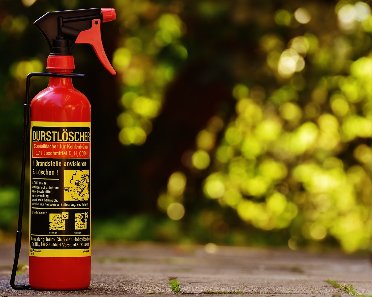 Fire Extinguisher at Protech group, guwahati Assam