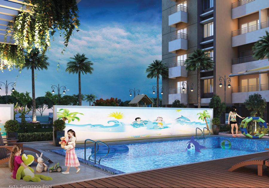 Protech Group - Indicative View of Swimming Pool for Kids