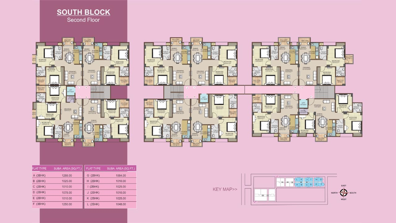 Protech Tulip South_Second Floor Plan