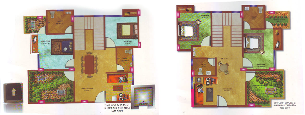 Third Floor Plan Protech view